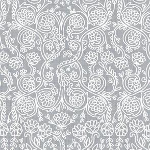 Batik Rococo Ultimate Grey