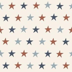 SMALL USA stars fabric - July 4