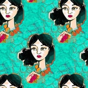 Lady Turquoise
