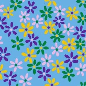 Retro Tiny Florals