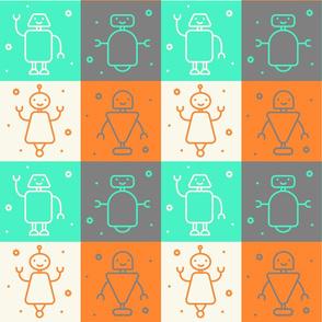 Dancing Robots - Large
