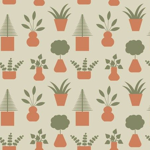 Potted Plants Neutral