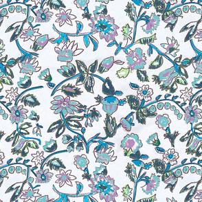 mavi floral floral