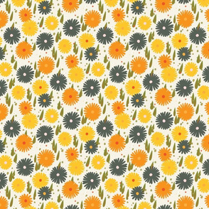 Daisy M+M Vanilla Multi Yellow Medium-Small by Friztin