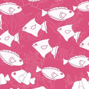 Just Keep Swimming-Pink