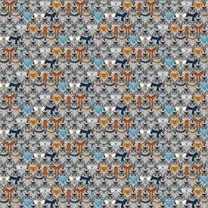 Catcessories - blue orange mini