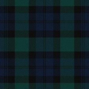 Blackwatch Tartan ~ Traditional Textured  ~ Medium