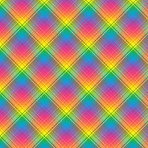 Rainbow Plaid 04, 50% smaller