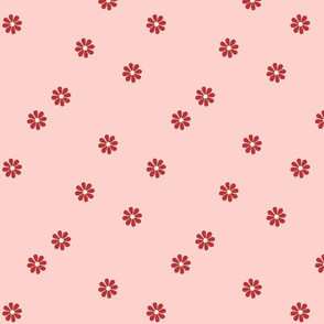 Granny Chic Flower (large scale) - Pink