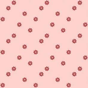Granny Chic Flowers (small scale) - Pink
