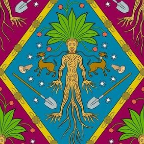 Screaming Mandrake Coat of Arms