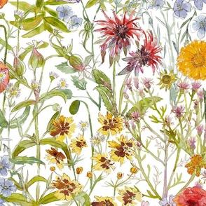 The Flowers In My Garden Medium