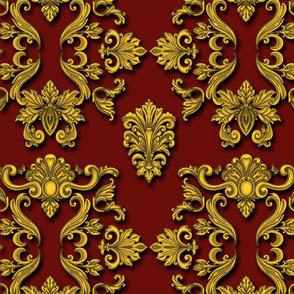 Rococo dark red