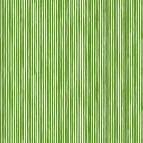 Vertical Watercolor Mini Stripes M+M Moss by Friztin