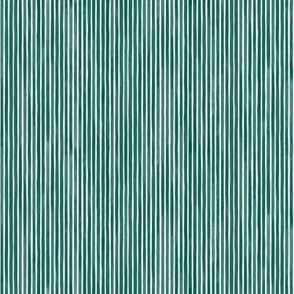Vertical Watercolor Mini Stripes M+M Evergreen by Friztin