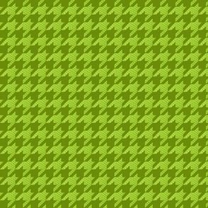 Green Snakeskin Houndstooth