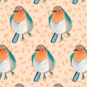 Mid-Century Robin Birds