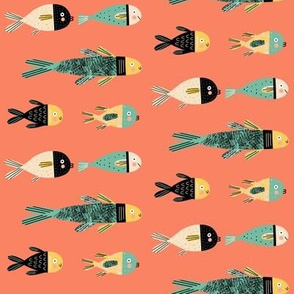 Red Sea Imaginary Fish