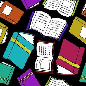 Falling for Books - Black