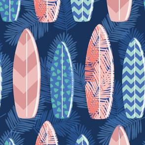surfing blue