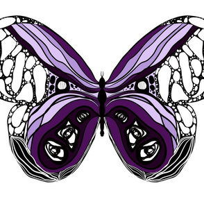Plum butterfly