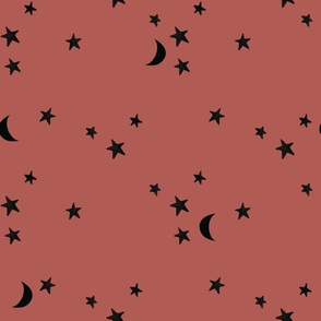 japonica stars and moons