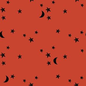 barn stars and moons