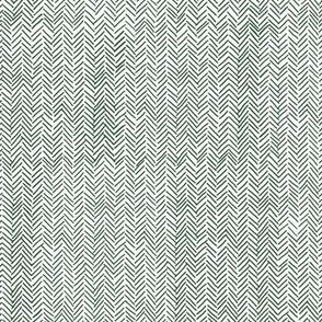 fir needles herringbone