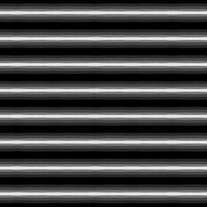 Gradient Horizontal Stripe Black and White