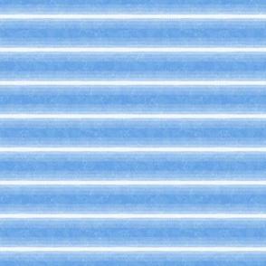 Gradient Horizontal Stripe Cornflower Blue Marble