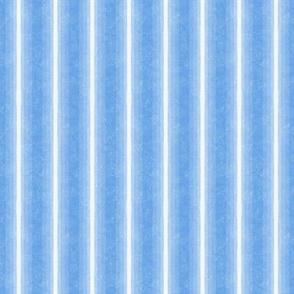 Gradient Vertical Stripe Cornflower Blue Marble