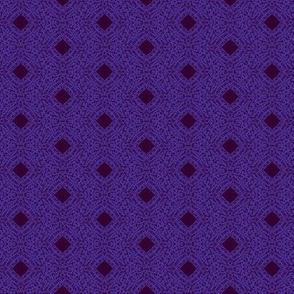 Dark Berry Filigree on Purple Ink - Small Scale-ch