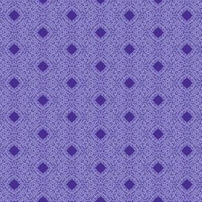 Jacaranda Filigree on Dark Berry - Small Scale