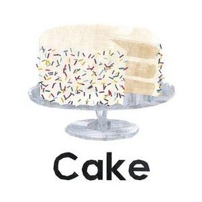 "cake - 6"" panel"
