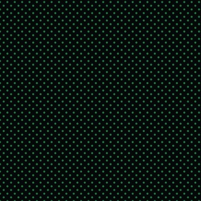 Black With Green Polka Dots - Small (Rainbow Collection)