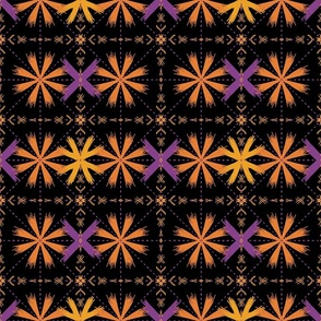Witchy Halloween floral