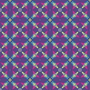 Purple lattice