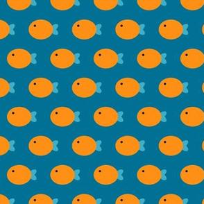 Fish Are Friends (Blue)_Small Scale