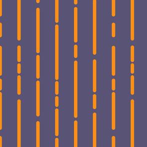 Space Stripes (Purple Orange)_large Scale