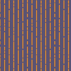Space Stripes (Purple Orange)_Small Scale