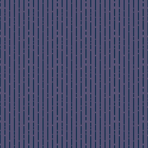 Space Stripes (Purple Navy)_Extra Small Scale