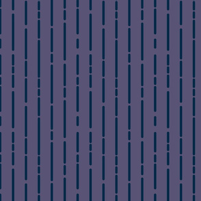 Space Stripes (Purple Navy)_Small Scale