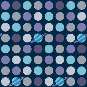 Space Spots (Blue)_large Scale