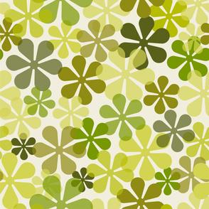 Groovy Flowers_Green