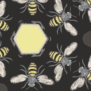 Beneficial Bumblebees & Hexagonal Honeycombs
