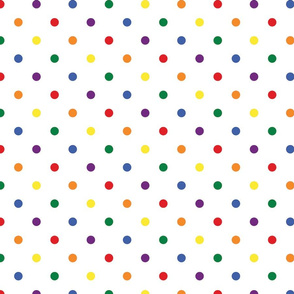 Rainbow Polka Dots - Medium (Rainbow Collection)