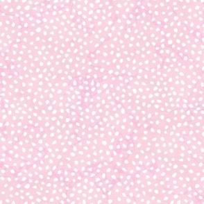 Guinea Peep Polkadots Light Bubblegum Marble