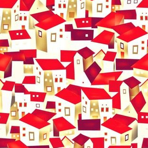 Cubism, Spain, houses