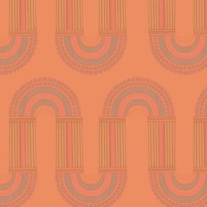 Moshe in Faded Orange