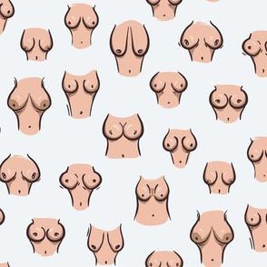 boobs pattern - small